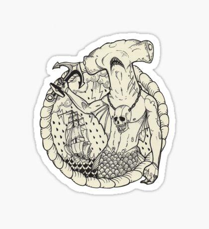 Sirène_04. Sticker
