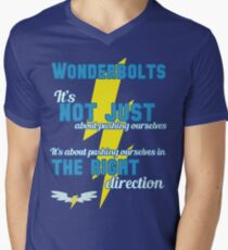 Being a Wonderbolt quote - Spitfire (MLP) Men's V-Neck T-Shirt
