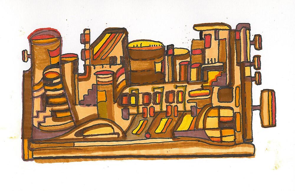 Windup Door and Window Factory by Tom Truchan