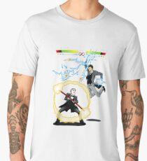 Tesla versus Edison Men's Premium T-Shirt