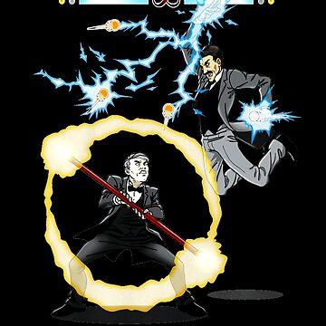 Tesla versus Edison by SpyFox