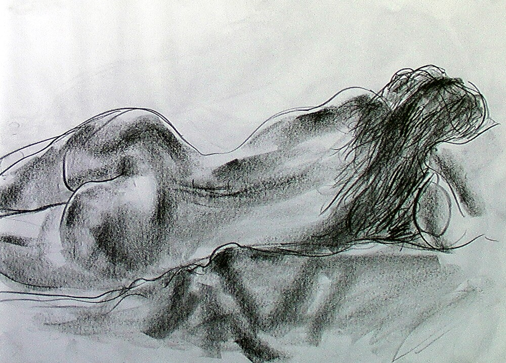 Terry nude by Adrian Symes