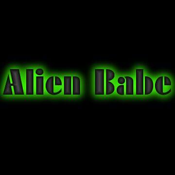 Alien babe  by mochababeacc