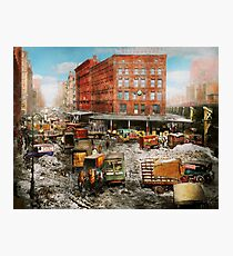 City - New York NY - Stuck in a rut 1920 Photographic Print
