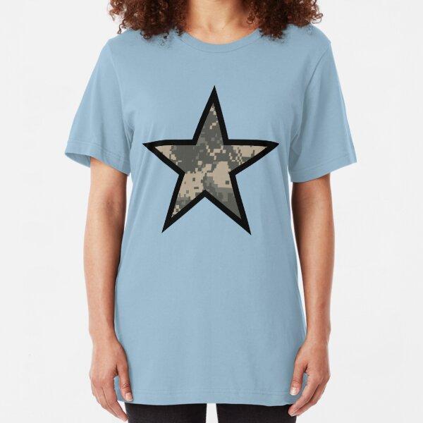 Camo Star E Slim Fit T-Shirt