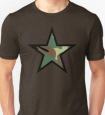 Camo Star D Unisex T-Shirt