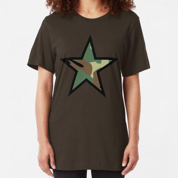 Camo Star D Slim Fit T-Shirt