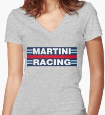 Martini Racing Women's Fitted V-Neck T-Shirt