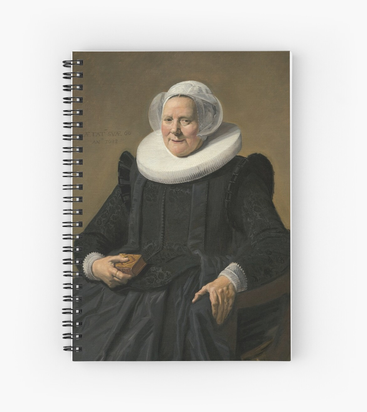 Portrait of an Elderly Oil Painting Lady by Frans Hals by podartist