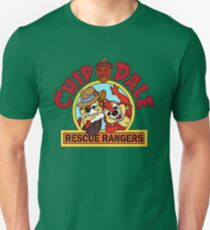 Chip n Dale Rescue Rangers, classic Cartoon Unisex T-Shirt