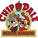 Chip n Dale Rettungsförster, klassischer Cartoon von RainbowRetro