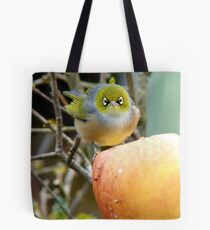 I Once Was Lost But Now I'm Found!! - Silvereye - NZ Tote Bag