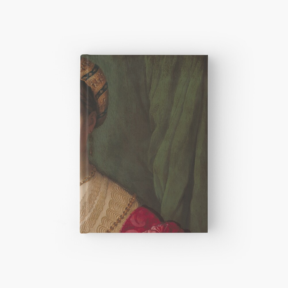 A Young Woman and Her Little Boy Oil Painting by Agnolo Bronzino Hardcover Journal