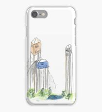 Houses on stilts iPhone Case/Skin