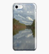 Tranquil river scene iPhone Case/Skin