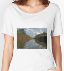 Tranquil river scene Women's Relaxed Fit T-Shirt