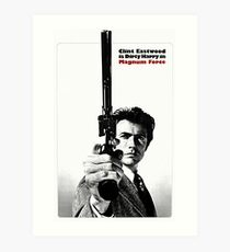 Dirty Harry - Magnum Force Art Print