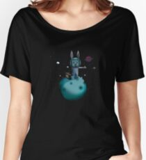 hitchhiking bunny Women's Relaxed Fit T-Shirt