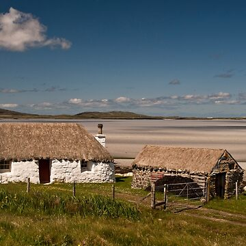 North Uist: Beach House by Kasia-D