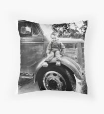 boyhood Throw Pillow