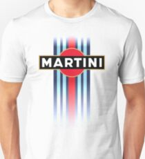 Martini Racing stripe Slim Fit T-Shirt