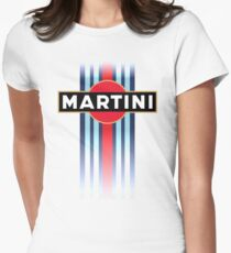 Martini Racing stripe Women's Fitted T-Shirt