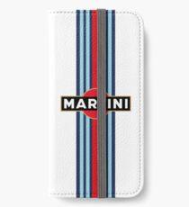 Martini Racing stripe iPhone Wallet/Case/Skin