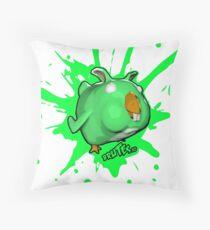 Brutes.io (Chibbit Green) Throw Pillow