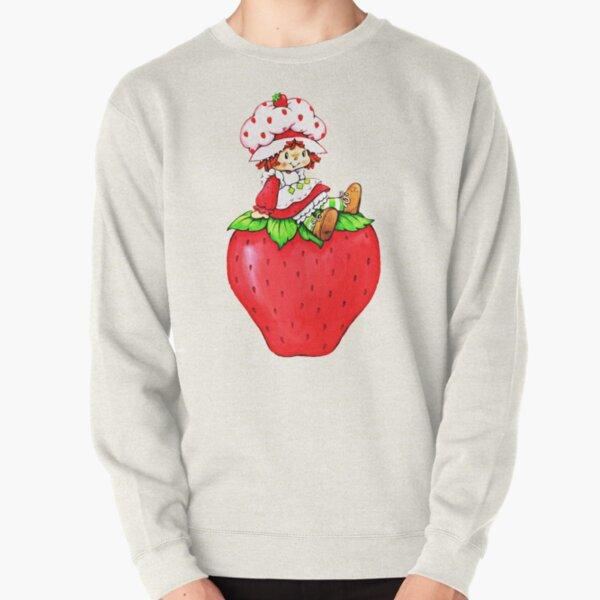 Strawberry Shortcake, strawberry classic 80s cartoon Pullover Sweatshirt