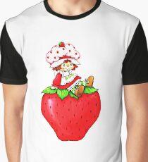 Strawberry Shortcake, strawberry classic 80s cartoon Graphic T-Shirt