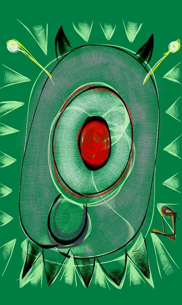 """One Eyed Devil Dog Bug"" by Richard F. Yates by richardfyates"