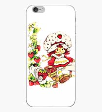 Strawberry Shortcake, strawberry classic 80s cartoon iPhone Case