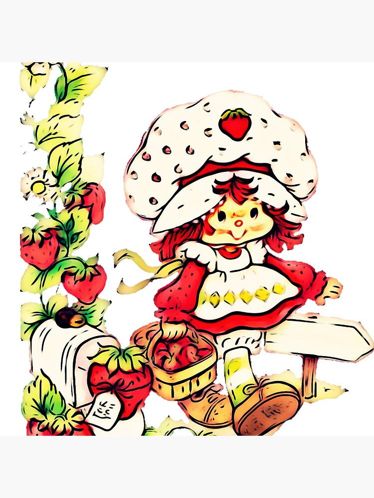 Strawberry Shortcake Strawberry Classic 80s Cartoon Tote Bag By