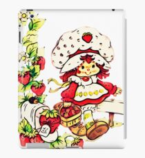 Strawberry Shortcake, strawberry classic 80s cartoon iPad Case/Skin