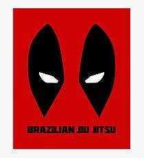 Brazilian Jiu Jitsu (BJJ) Photographic Print