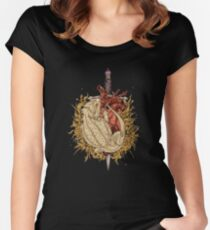 Gilded Dragon Women's Fitted Scoop T-Shirt