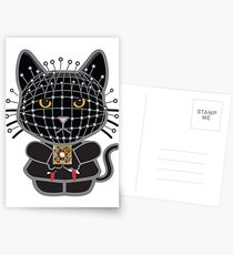 Hellraiser Black Kitty  Postcards