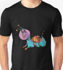 Golden snail Unisex T-Shirt