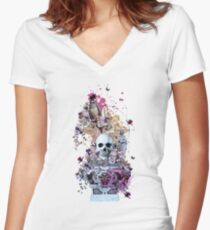 Paradise Women's Fitted V-Neck T-Shirt