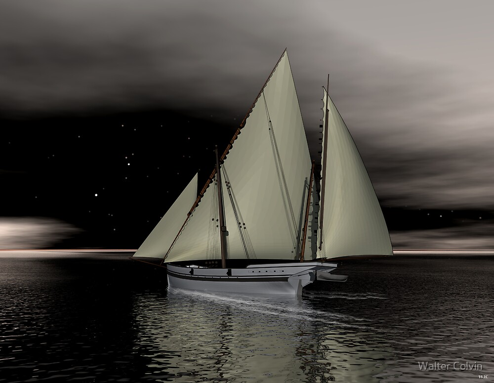 Dark Waters by Walter Colvin