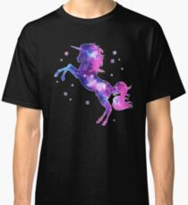 Cosmic Unicorn, Galaxy Style, Space, Universe, Space Classic T-Shirt