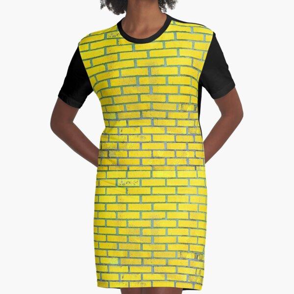 Yellow bricks Graphic T-Shirt Dress