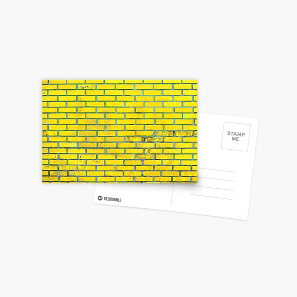 Yellow bricks Postcard