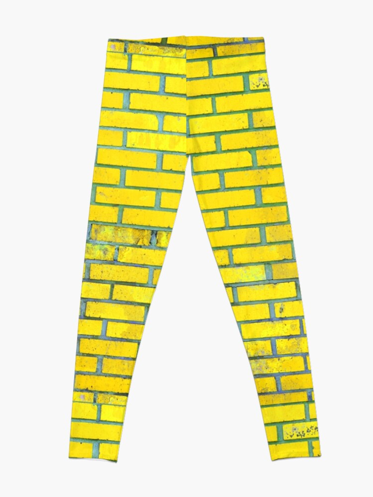 Alternate view of Yellow bricks Leggings