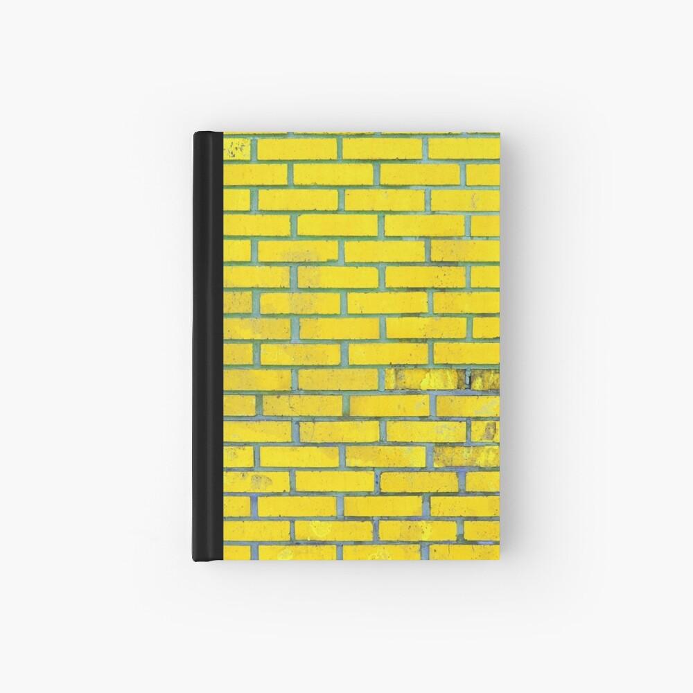 Yellow bricks Hardcover Journal