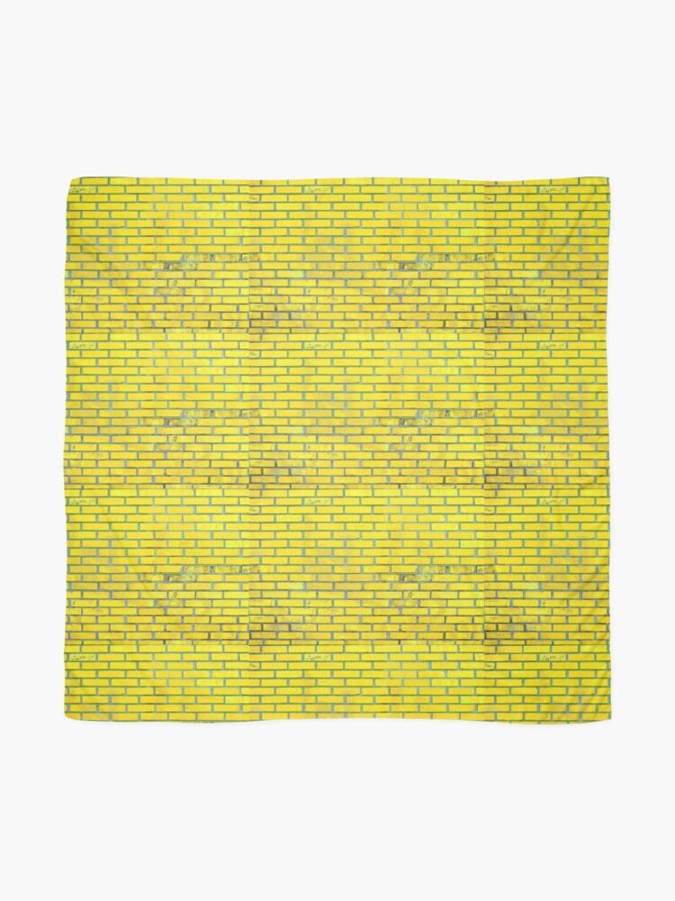 Alternate view of Yellow bricks Scarf