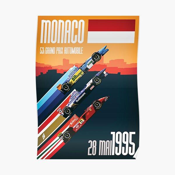 F1 Classics - Monaco 1995 Póster