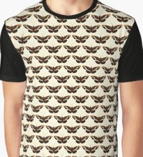 Butterfly Pattern Graphic T-Shirt