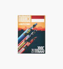 F1 Classics - Monaco 1995 Art Board