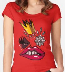 It's the return of the Shea Monster Women's Fitted Scoop T-Shirt